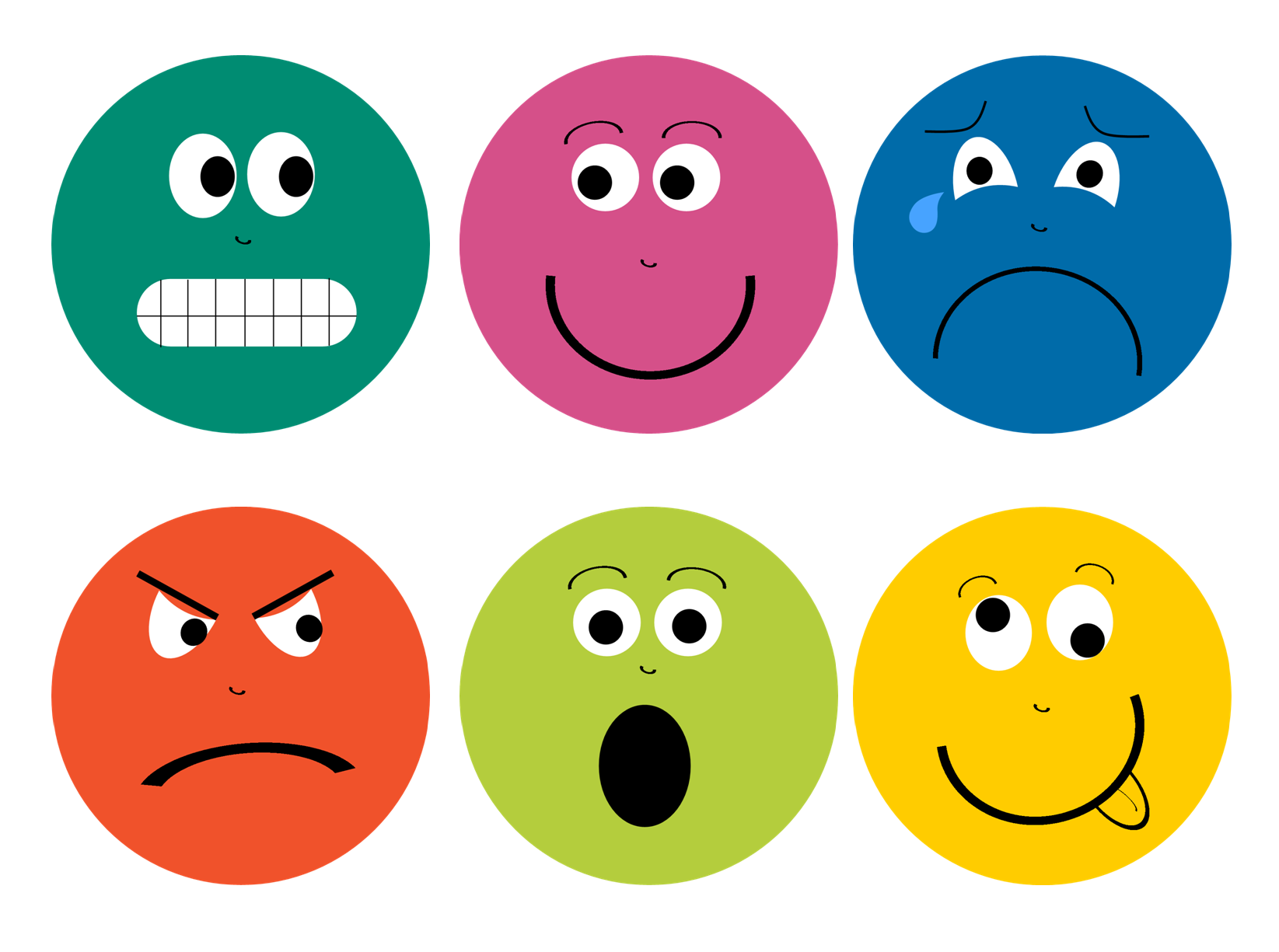 photo relating to Free Printable Emotion Faces titled Inner thoughts Faces Printable Library Thoughts preschool