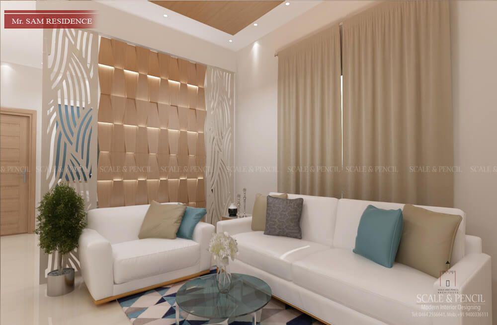 living area  living room interior design kochi