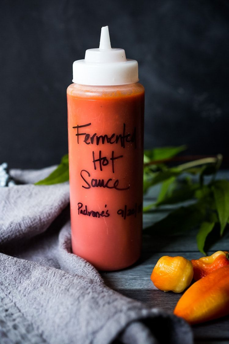 Fermented hot sauce recipe hot sauce easy delicious