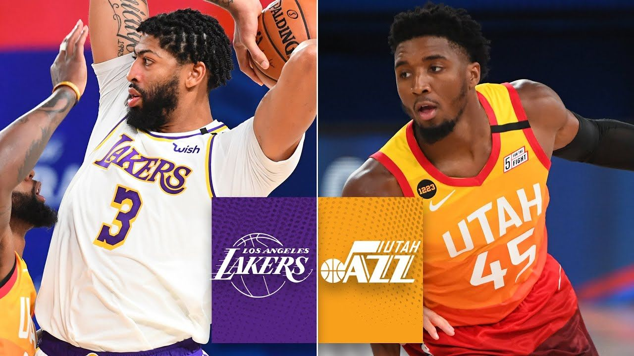 Los Angeles Lakers Vs Utah Jazz 2019 20 Nba Highlights Youtube In 2020 Lakers Vs Utah Jazz Los Angeles Lakers