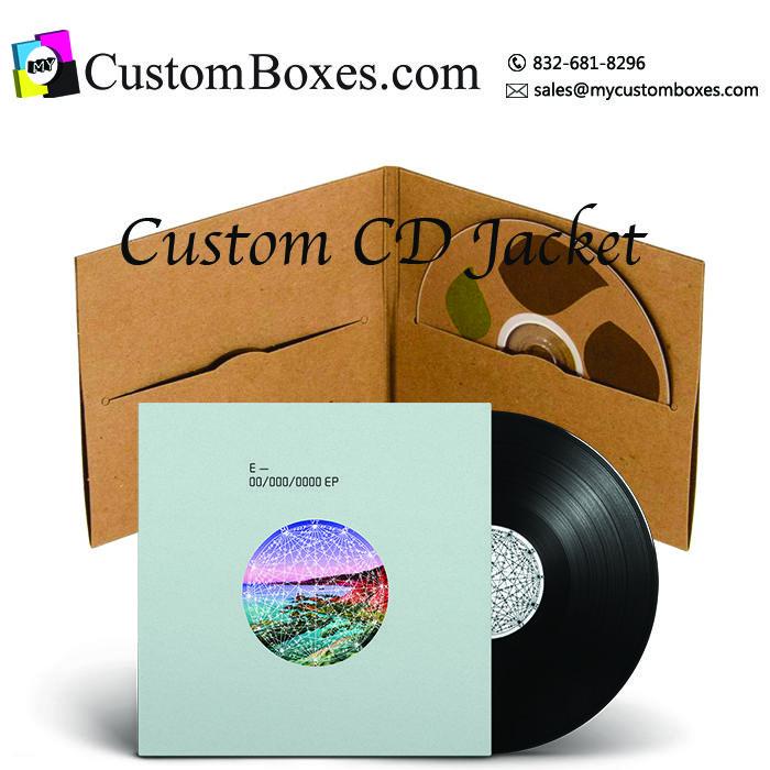 custom cd jacket