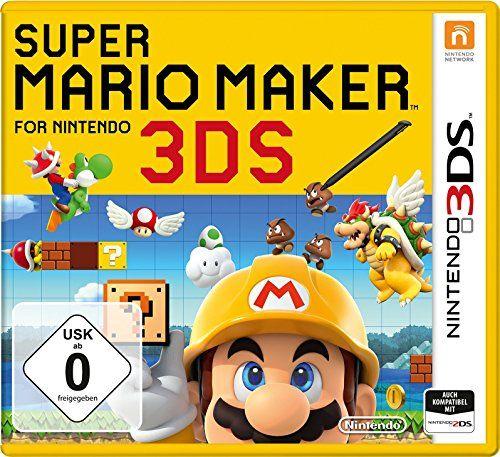 Super Mario Maker For Nintendo 3ds Nintendo 3ds Nintendo Super Mario