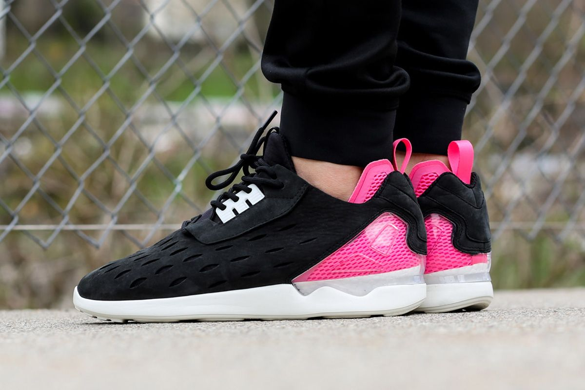 ba1e94ce6c8 The adidas ZX 8000 Boost is splashed with pink accents to give it some much  needed color.