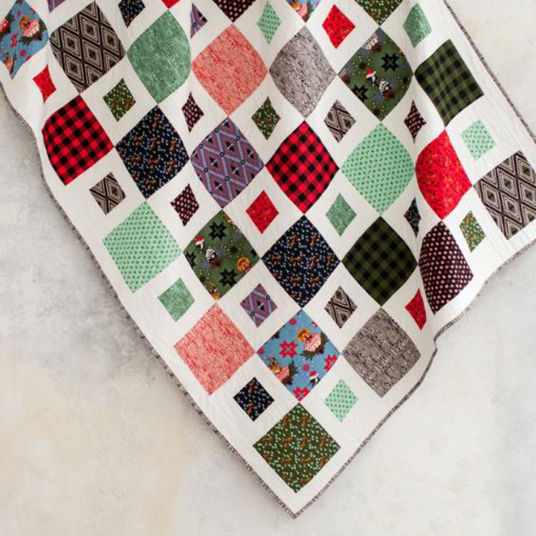 Paddy Cake Holiday Homies Quilt Kit by Daniela Stout featuring Free ...