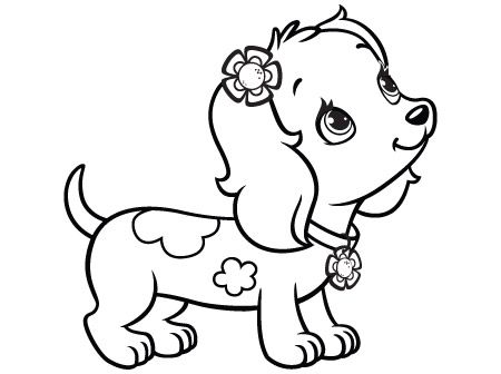 Activities Archive Strawberry Shortcake Marmalade Orange S Dachshund Dog Coloring Page Strawberry Shortcake Coloring Pages Animal Coloring Pages