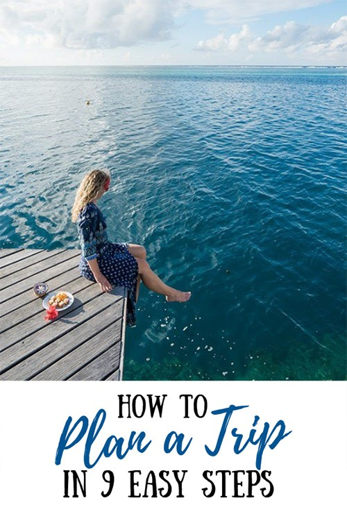 How to Plan a Trip in 9 EASY STEPS Trip, Vacation plan