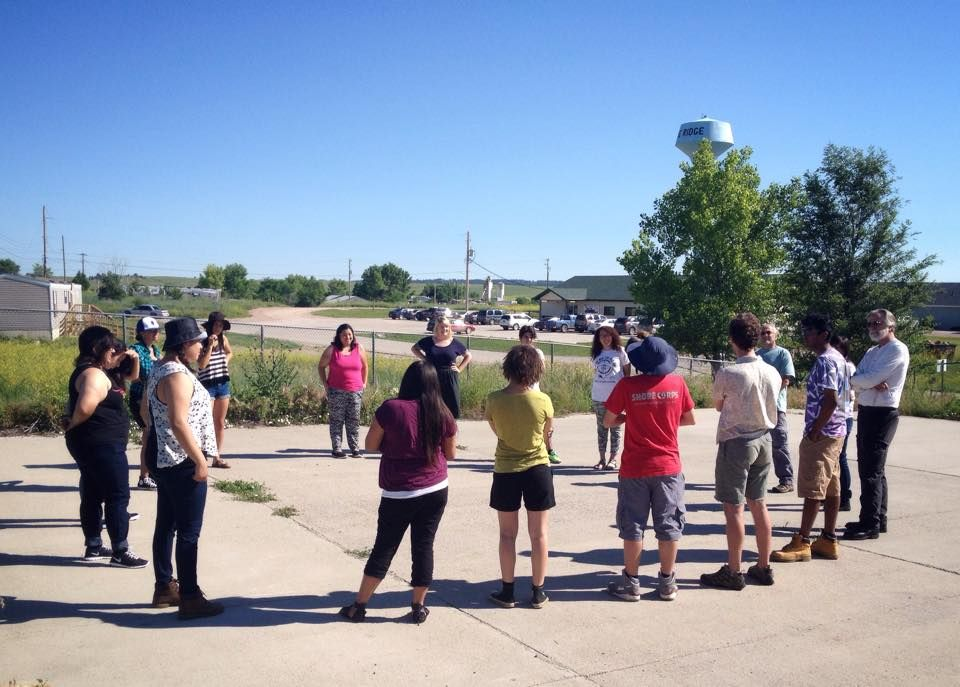 Indianz.Com > Lakota Country Times: Youth come to Pine Ridge for 'Exposures'