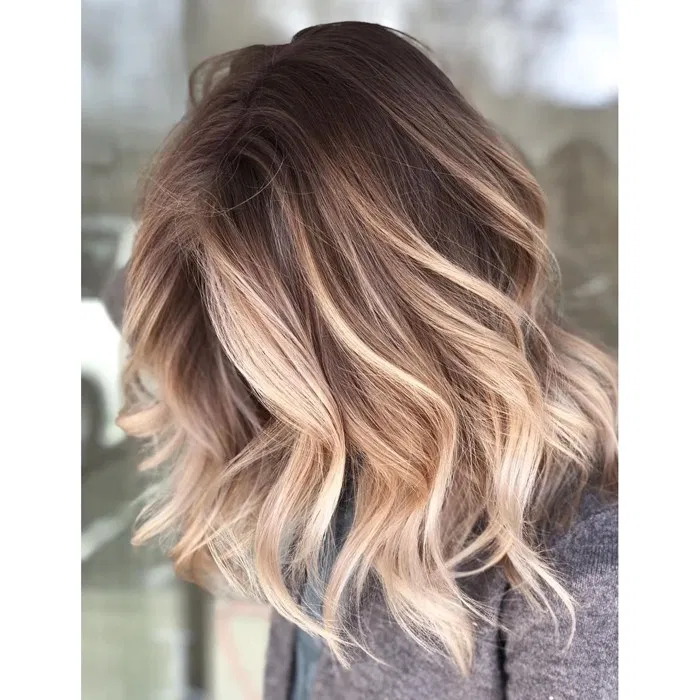 Wet Balayage + Root Melt Step By Step - Behindthec