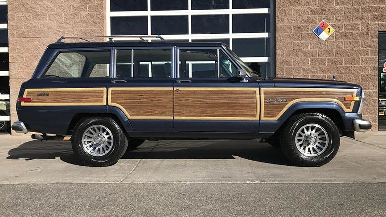 1990 Jeep Grand Wagoneer For Sale Near Henderson Nevada 89011