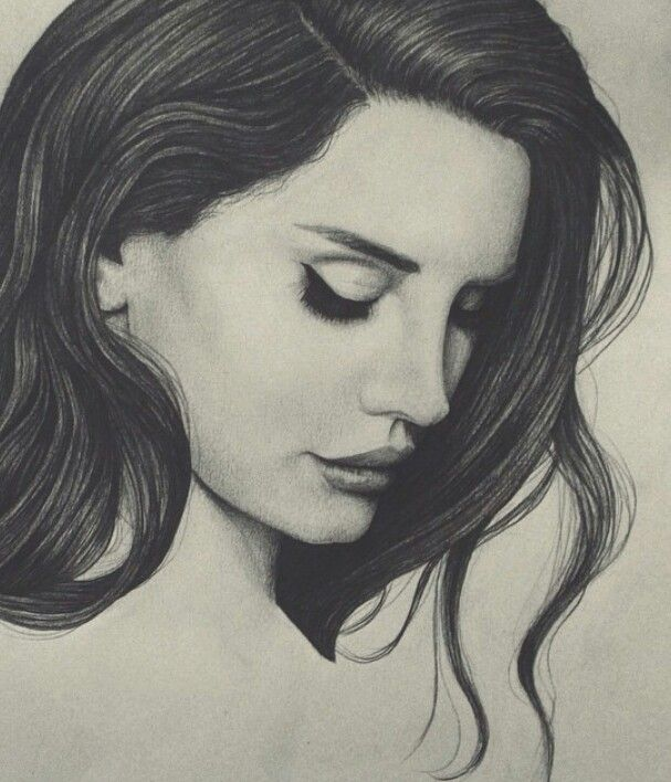 Lana Del Rey Ldr Art By Peter Curtis Discover The Secrets Of Drawing Realistic Pencil Portraits Http Pen Pencil Portrait Drawing People Portrait Drawing