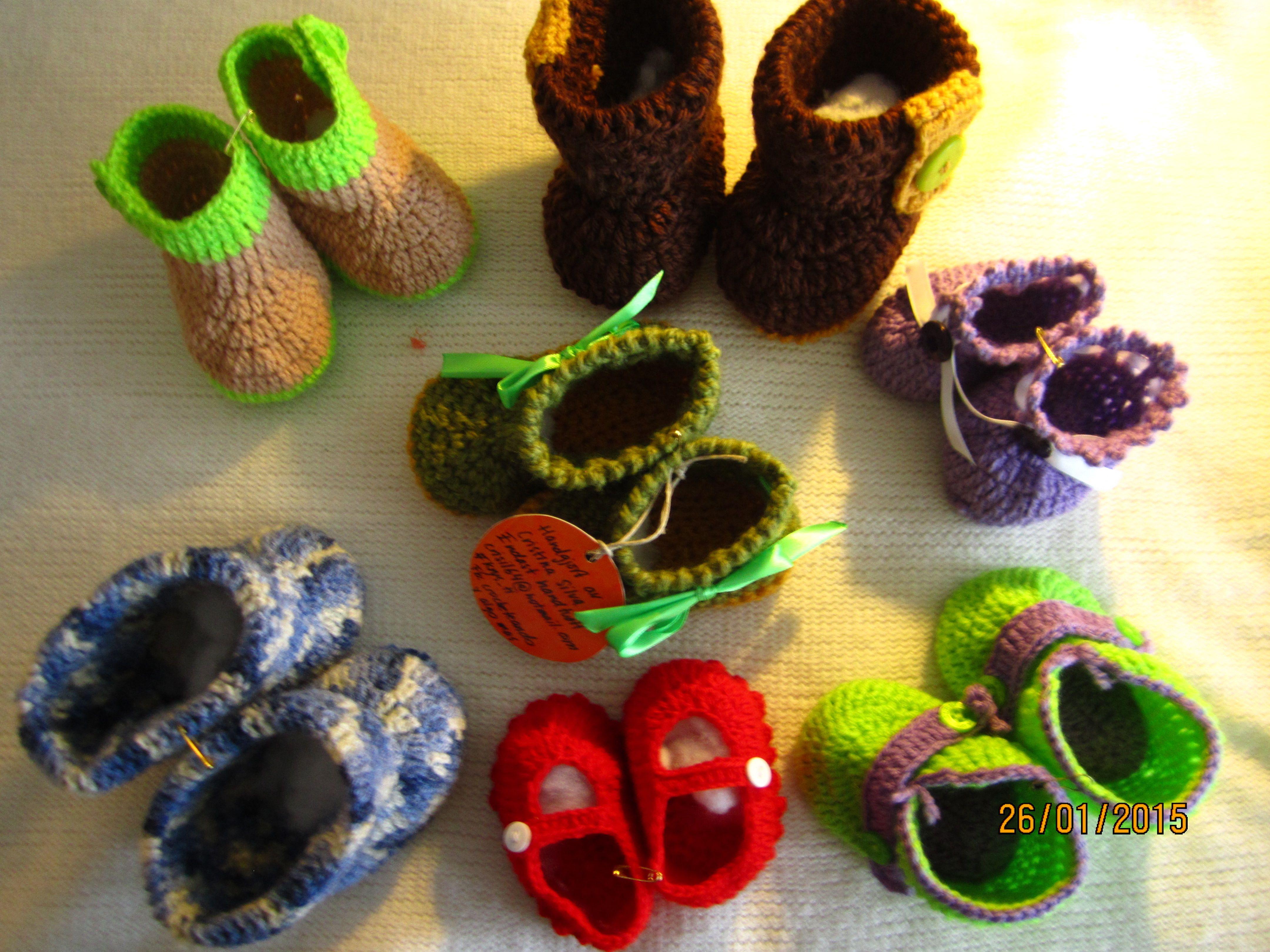 Zapatitos para bebés.