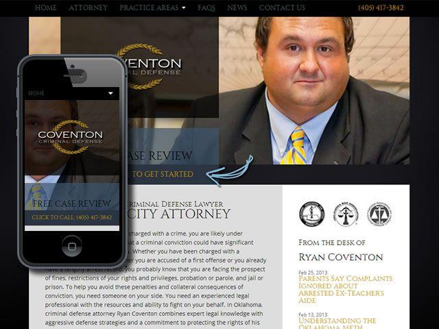 Website Design Portfolio By Webdexterous | Coventon Legal | Responsive / Mobile Web Design