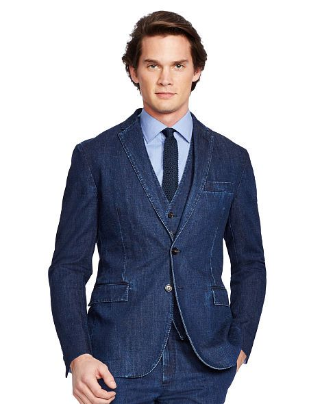 Morgan Denim Sport Coat - Polo Ralph Lauren Sport Coats ...