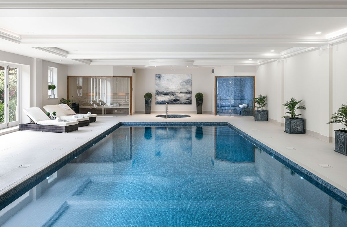 Indoor Pool Ideas #Pool Decor (Swimming Pool Design) Tags: Inground Pool  Ideas