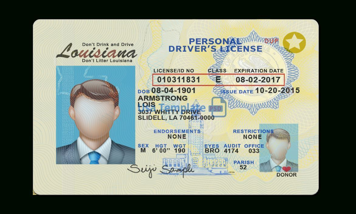Texas Fake Id Best Scannable Fake Ids From Idgodunited States Uniformed Services Privilege And Identificati Id Card Template Psd Templates Drivers License