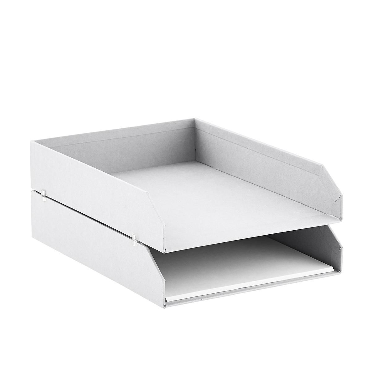 Stackable Letter Trays Set