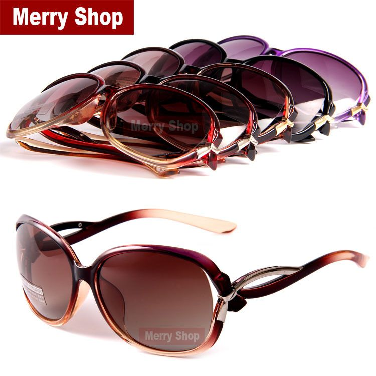 032b1b0bc120 2014 Women Brand Designer Polarized Sunglasses Fashion Bowknot Women  Sunglasses Hollow out Lens 5Color High quality