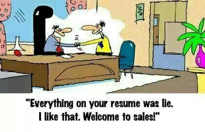 Secret To Being A Successful Salesman Sales Humor Work Humor Funny Jokes