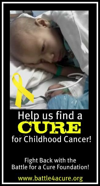 Battle for a Cure Foundation- Funding Research for Childhood Cancer so children like Makayla no longer have to fight for their lives! Will you join us?