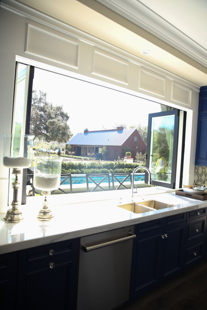 Kitchen window from outside  the american farmhouse dream  american farmhouse kitchens and
