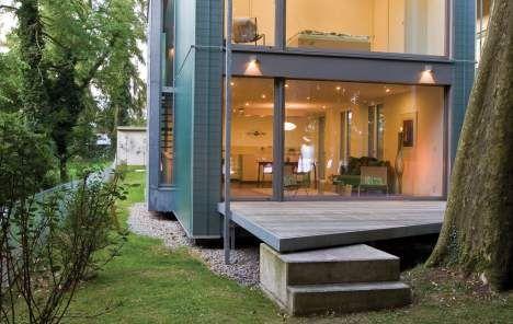 Fenster außenansicht haus  Das Goldene Haus 2011: Innovation: Dieses Haus ist ein Gewinn ...