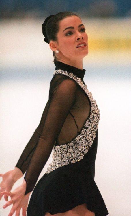 Nancy Kerrigan -Black Figure Skating / Ice Skating dress inspiration for Sk8 Gr8 Designs.