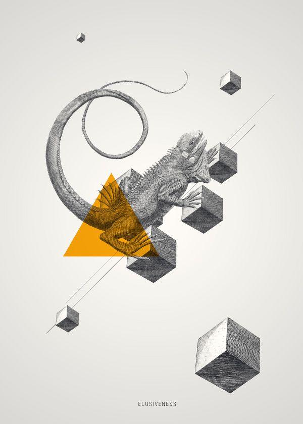 Archetypes by Evgeniya Righini-Brand, via Behance