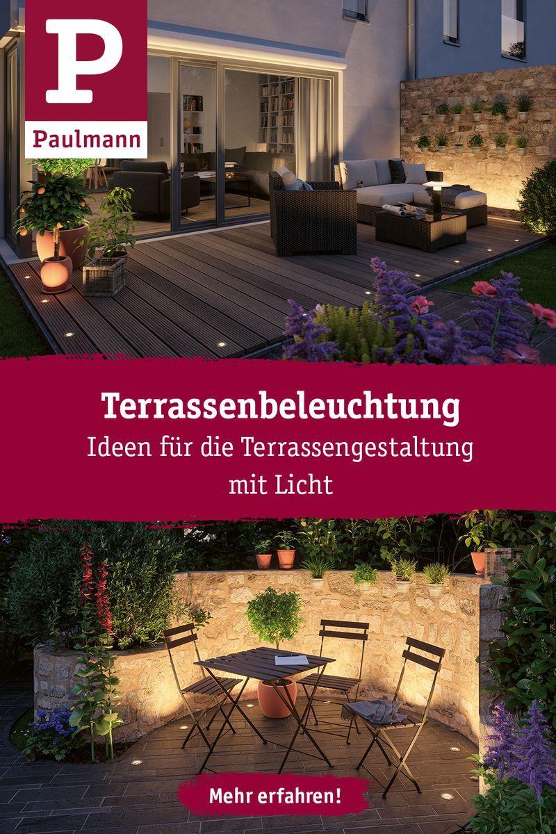 Terrassenbeleuchtung In 2020 Terrassenbeleuchtung Gartendekoration Beleuchtung Garten