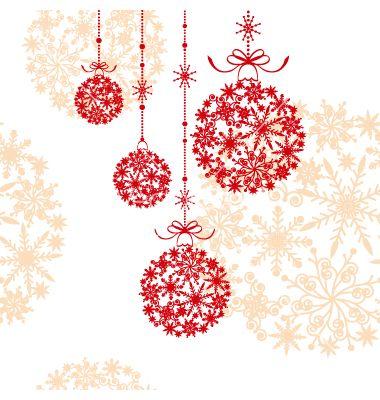 Abstract Christmas Ornament Vector Image On Vectorstock Christmas Ornament Pattern Ornaments Image Christmas Vectors