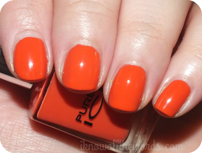 pure ice citrus collection Pure products, Nail polish