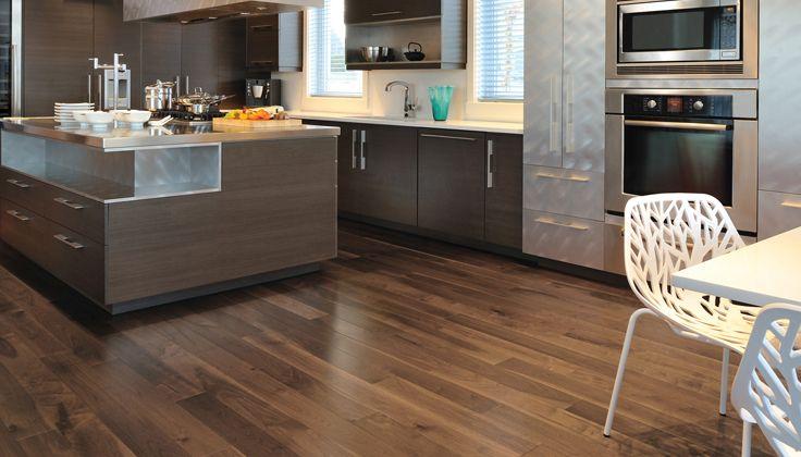 Plancher belle teinte plancher pinterest for Parquet flottant dans une cuisine
