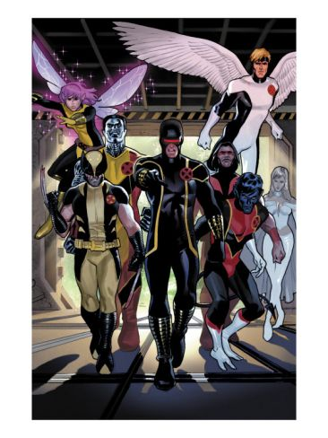 X Men Legacy Annual No 1 Group Cyclops Wolverine Nightcrawler And Angel Art Print By Daniel Acuna At Art Com Comics Nightcrawler Marvel Comics Art