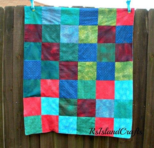 Snuggly blanket for toddler or baby | rsislandcrafts - Childrens on ArtFire