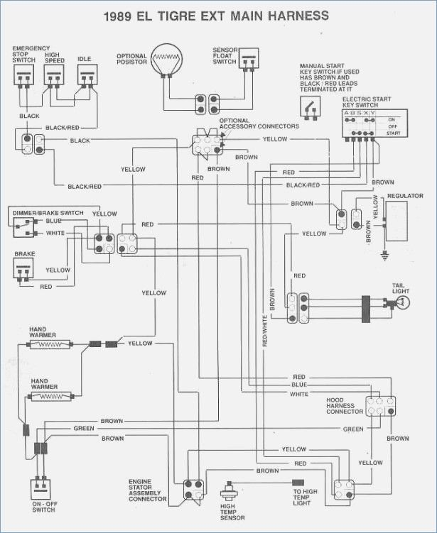2005 Polaris Sportsman 90 Wiring Diagram