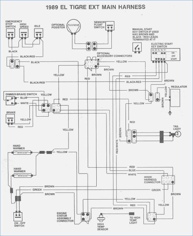 2005 polaris sportsman 90 wiring diagram in 2021