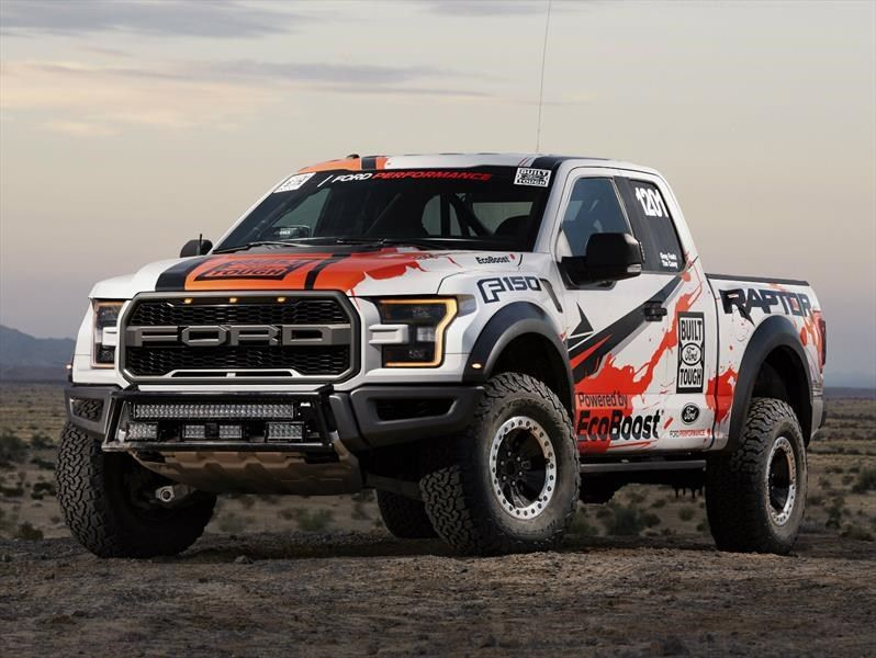 Ford F 150 Raptor 2017 Ready For The Baja 1000 Coches Todoterreno Vehiculos Todoterreno Camioneta Ford F150