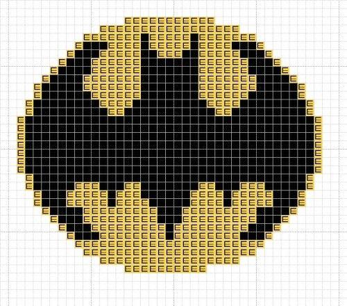 batsignal cross stitch pattern free 0 cool cross