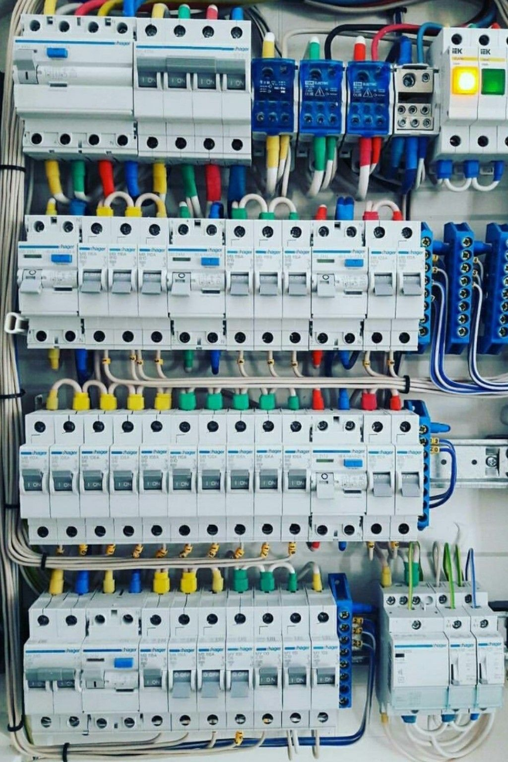 Distribution Board Distribution Board Home Electrical Wiring Electrical Projects