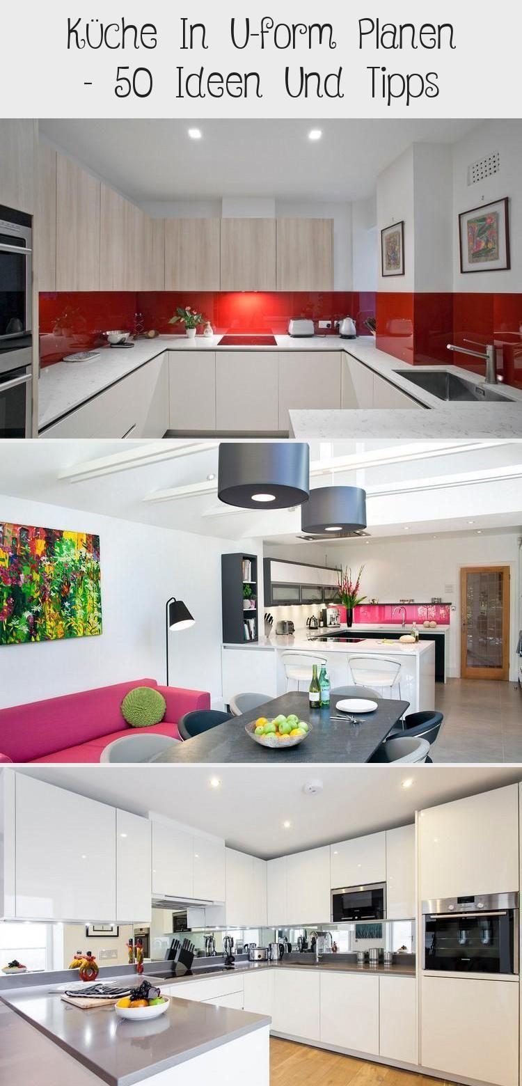 Kuche In U Form Planen 50 Ideen Und Tipps Kuchen In U Form Kuchen Planung Moderne Kuche
