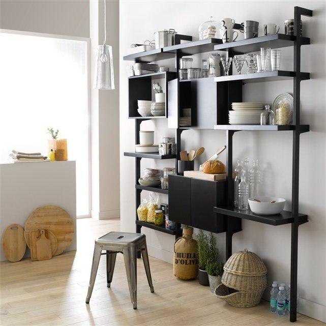caisson 2 portes taktik ch ne massif pour syst me de. Black Bedroom Furniture Sets. Home Design Ideas