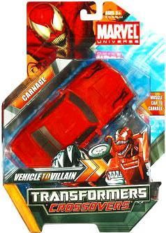 Marvel Transformers Crossovers Carnage Action Figure
