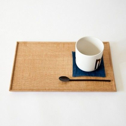 Handmade wooden tableware by Takashi Tomii