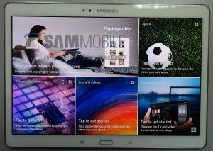 Samsung Galaxy Tab S 10.5 inch screen with AMOLED display leaked in photos. #samsung #leaked #spotted