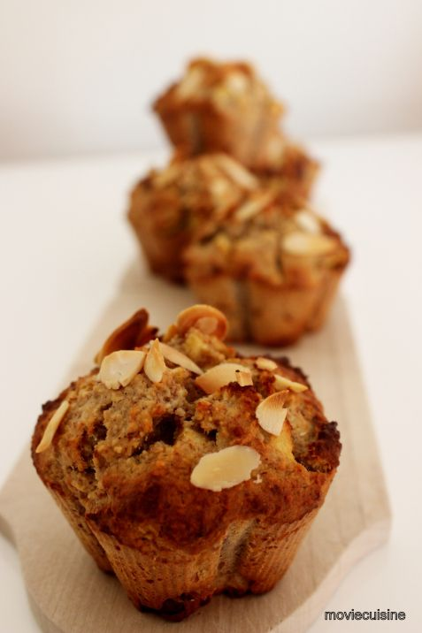 Do you know Quentin Tarantino's fictional cigarette brand Red Apple he uses in his movies? Check out a recipe inspired by his movie Django Unchained for healthy paleo apple muffins.
