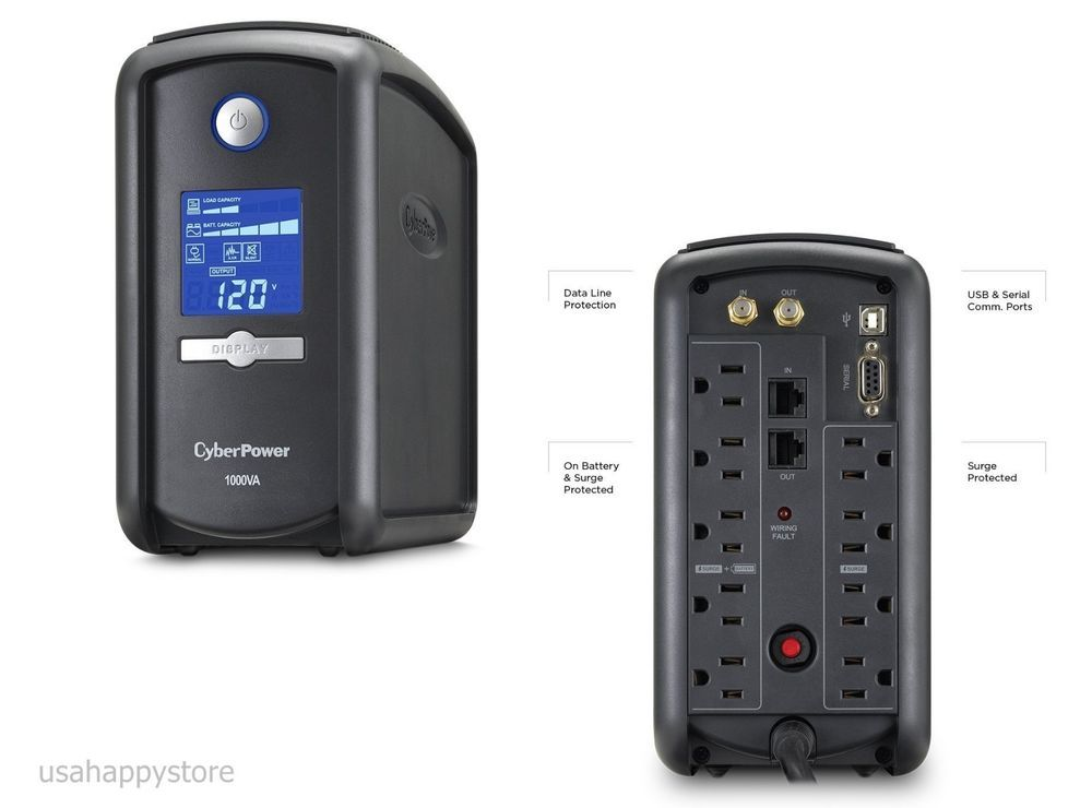 Details about CyberPower Power Supply Battery Backup Protect PC Home
