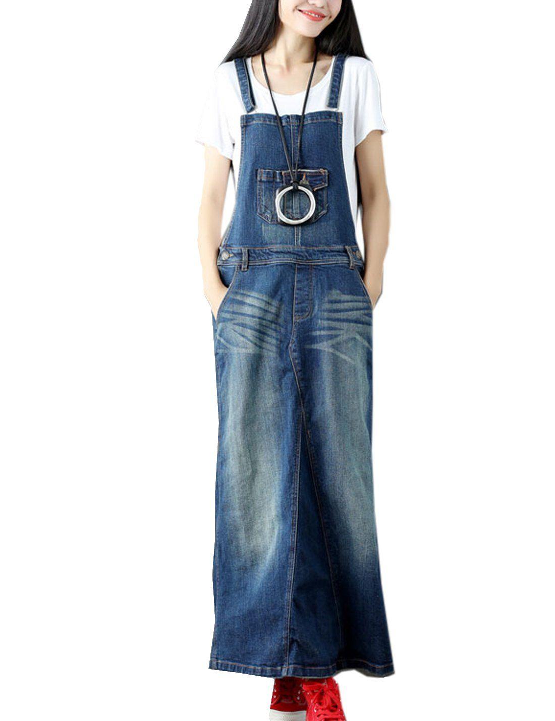 Flygo womens elegant ankle length long denim jeans