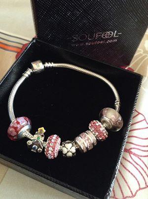 Gorgeous charm bracelet & Nice package @soufeel pandora Jewelry ...