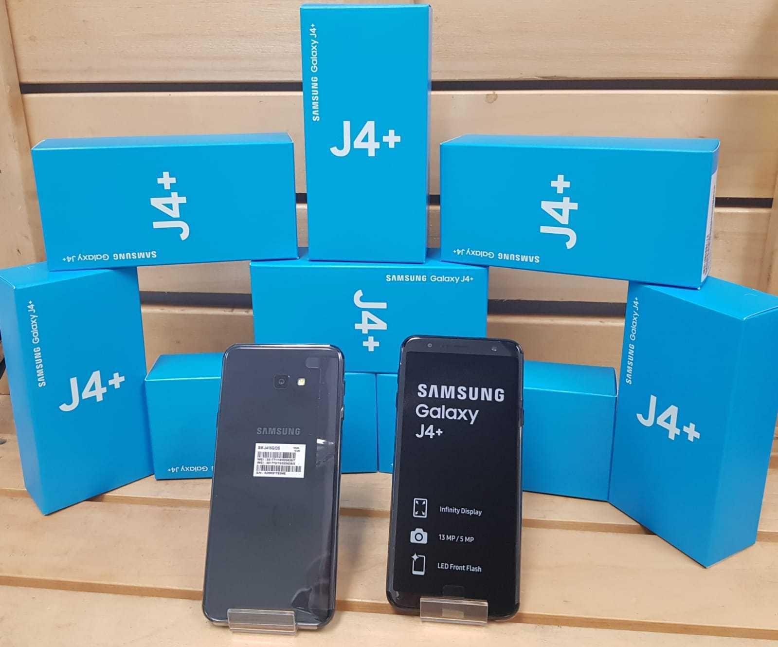 159 50 | SAMSUNG GALAXY J4 PLUS 16 GB ( J415 ) BLACK FACTORY UNLOCK