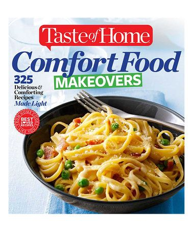 Look what I found on #zulily! Comfort Food Makeovers Paperback #zulilyfinds