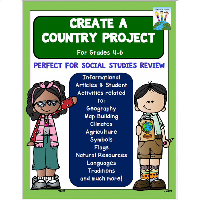 create your own country project amp checklist